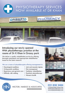 Physio @ Dr Khan Flyer